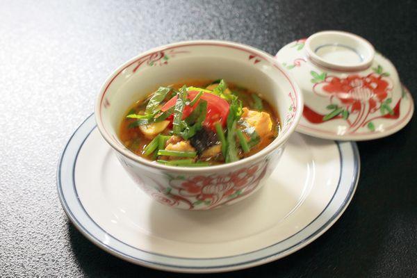 20160527ナスとトマトと厚揚げのスープ01